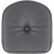 SADDLEMEN 0408RS SISSY BAR PAD EXPLORER RS REAR VINYL PLAIN BLACK